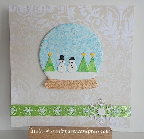 memory box snow globe