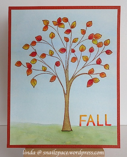 penny black fall tree