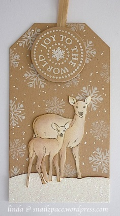 cuddly buddly winter wonderland tag