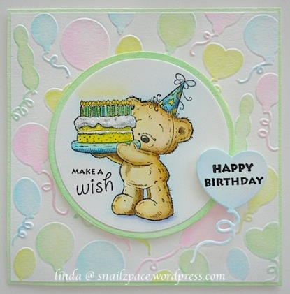 birthday bear.linda