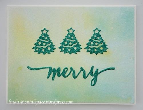 copyright linda snailzpace.wordpress.com.christmastrees