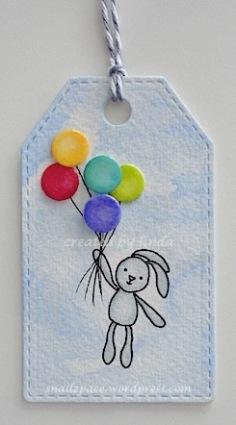 copyright linda@snailzpace.wordpress.com balloon bunny-1