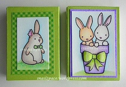 copyright linda@snailzpace.wordpress.com memory box bunnies