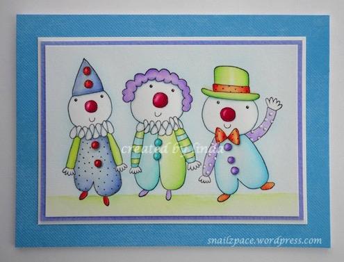 copyright linda @ snailzpace.wordpress.com penny black clowns-1