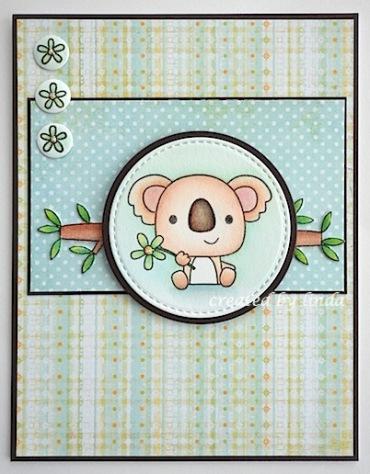 copyright linda @ snailzpace.wordpress.com reverse confetti koala-2