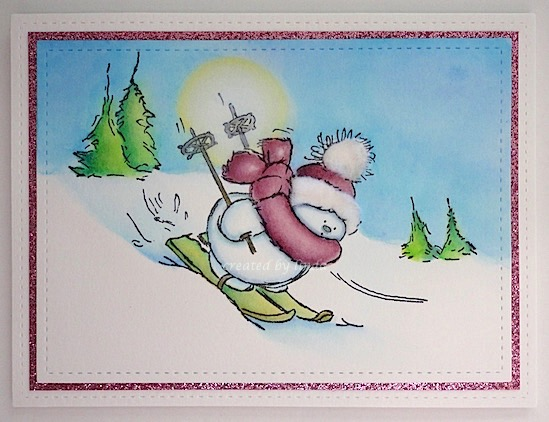 penny black downhill snowy copyright linda @ snailzpace.wordpress.com-1