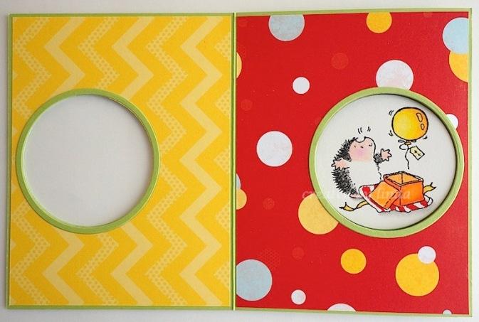 penny black hedgie surprise inside copyright linda snailzpace.wordpress.com-1