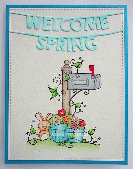 welcome spring taylored expressions copyright linda snailzpace.wordpress.com-1