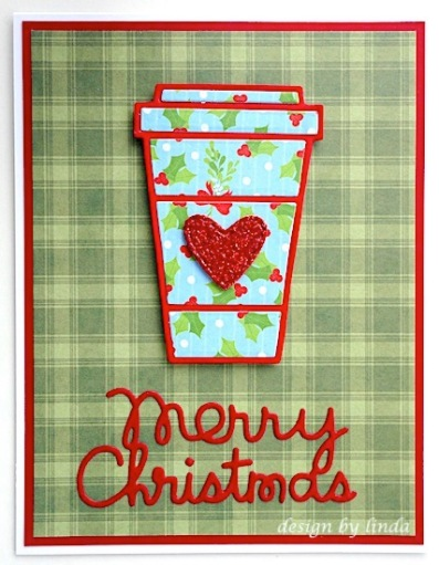 paper smooches coffee cup copyright linda snailzpace.com-1
