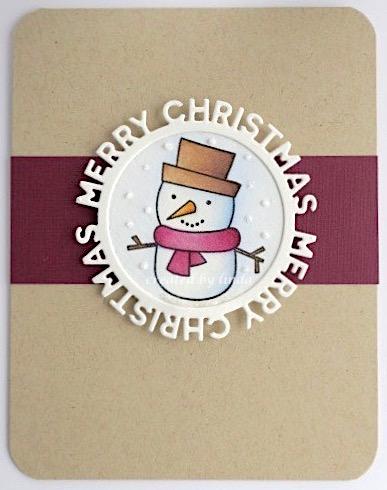 MFT snowman copyright linda snailzpace.com