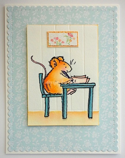 penny black writing mouse copyright linda snailzpace.com-1