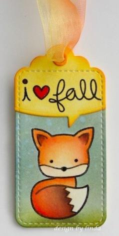 lawn fawn fall fox copyright linda snailzpace.com