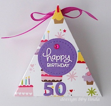triangle candy holder copyright linda snailzpace.com
