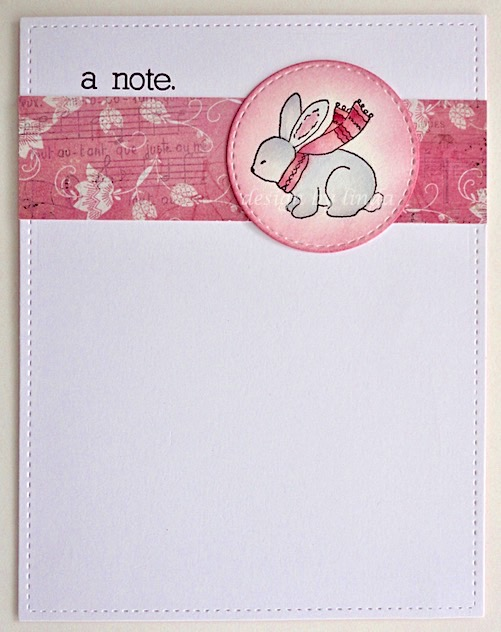 impression obsession bunny notes copyright linda snailzpace.com-1