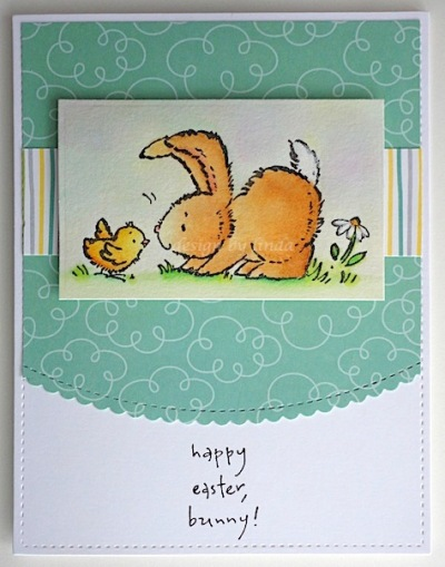 penny black easter bunny copyright linda snailzpace.com-1