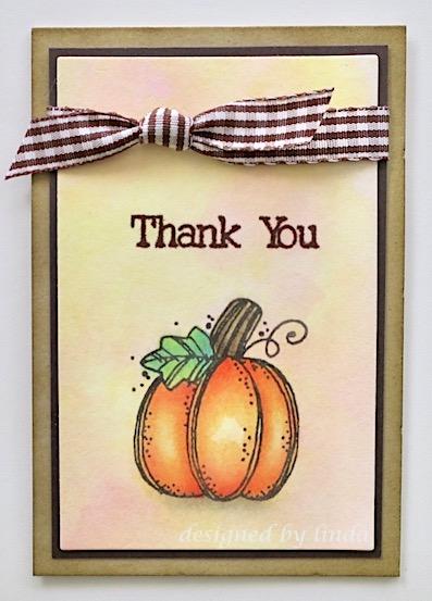 pumpkin thank you card copyright inda snailzpace.com