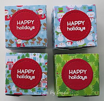 christmas treat boxes copyright linda snailzpace.com