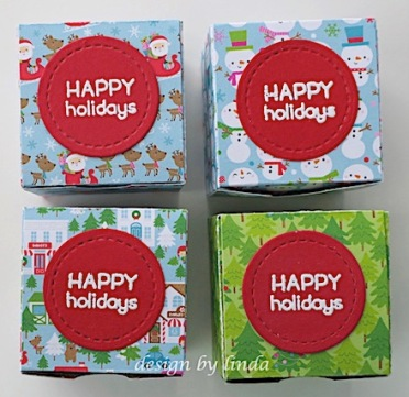 christmas treat boxes copyright linda snailzpace.com