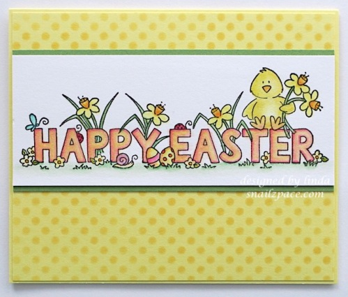 happy easter 2020 penny black card copyright linda snailzpace.com