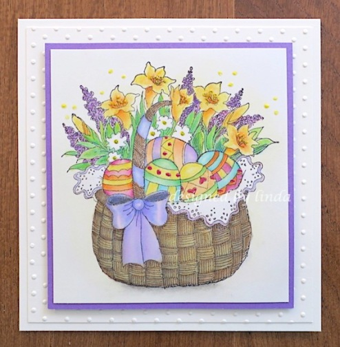 penny black easter copyright linda snailzpace.com