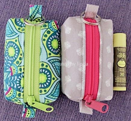 itty bitty fabric pouch