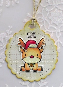 mama elephant reindeer tag copying right linda snailzpace.com