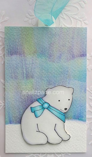polar bear tag copyright Linda snailzpace.com