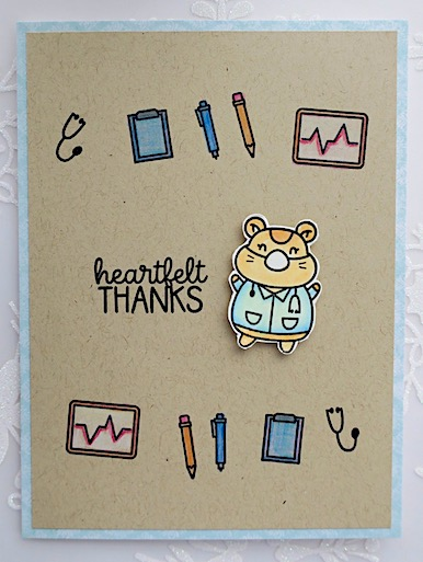 thank you doctor card copyright Linda S snailzpace.com