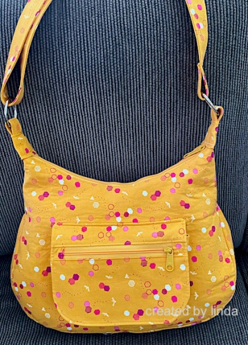 honeycomb and bee handbag handmade